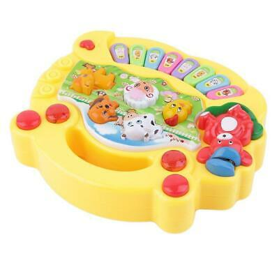 Baby Kids Musical Educational Animal Farm Piano Developmental Music Toy Gift LJ