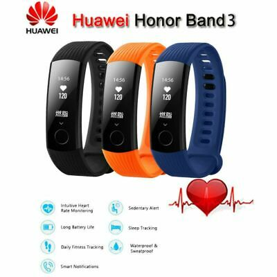 Huawei Honor Band 3 Smart-Armband Bluetooth Uhr Herzfrequenz-Schlafmonitor Black