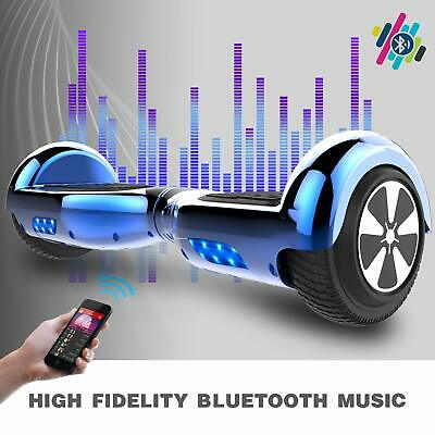 Chrome 6.5'' Bluetooth Hoverboard Self Balance Elettrico Scooter Smart Overboard