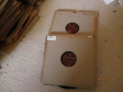 14 Harry Roy  Gramophone Phonograph 78rpm records all in hard covers