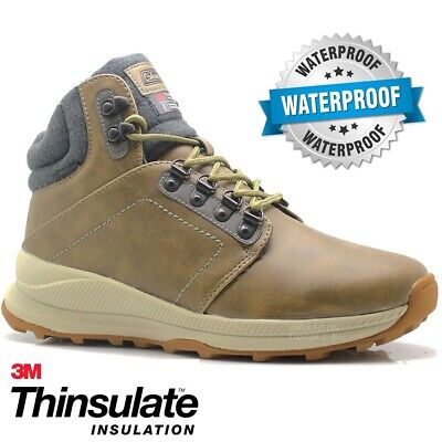 New Mens Hiking Boots Walking Ankle Hi Tops Trail Casual Trekking Trainers Shoes