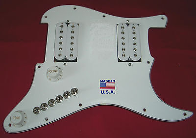 AMI Loaded Upgrade Fits Fender HH Strat Get 68 Jazz Metal Country Pickup Tones