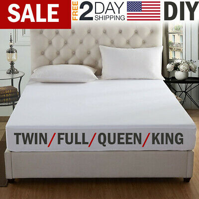 Mattress Cover Protector Waterproof Pad Queen Size Bed Cover Hypoallergenic