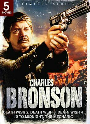 Charles Bronson: 5 Movie Collection (Death Wish 2 / Death Wish 3 / NEW DVD