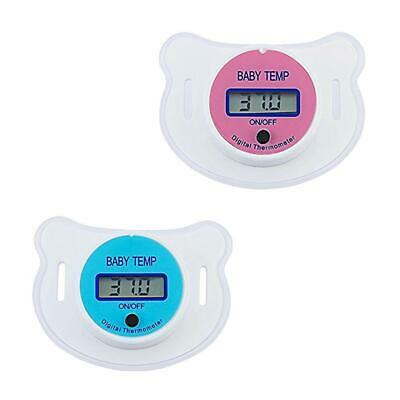 Baby Kids LED Pacifier Thermometer Mouth Temperature Monitor Tool CLSV 01