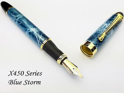 1pc x450 gold fountain pen curved tip diy for jinhao  YEGD