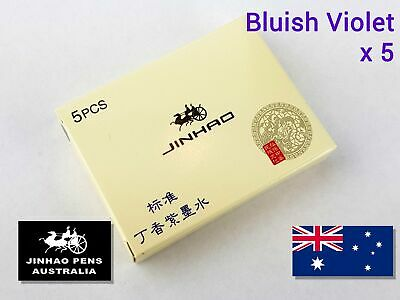 JINHAO International Standard Fountain Pen Cartridges - Bluish Violet