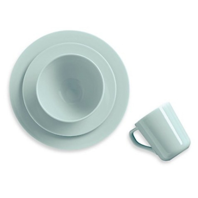 Real Simple 4-Piece Place Setting in Seaglass-Round