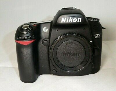 Nikon D80 10.2MP Digital SLR Camera - Black (Body only)