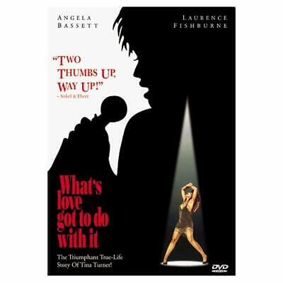 What's Love Got To Do With It? On DVD with Angela Bassett Drama Very Good D59