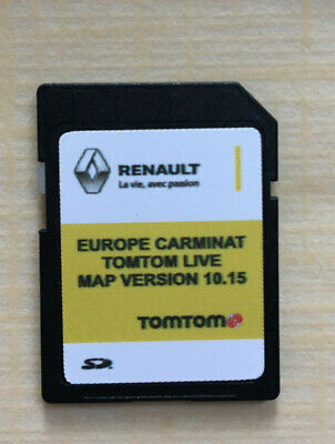 RENAULT Tom Tom LIVE CARMINAT NAVIGATION SD CARD EUROPE UK MAP V10.15 2019-2020
