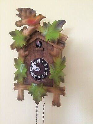 A German Cuckoo Clock For Spares Or Restoration