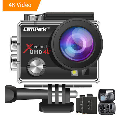 Campark Waterproof Ultra FHD 4K WiFi DV Action Sports Video Camera Pro Camcorder