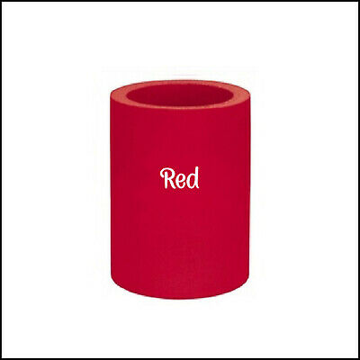 """Original Style"" Blank Thick Foam Can Coolers - 2 Pack - Red"