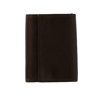 New CTM Men's Leather Key Case Trifold Wallet
