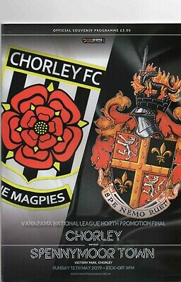 18/19 Chorley V Spennymoor Town (National League North Promotion Final)