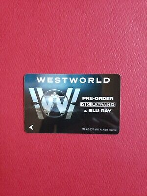 SDCC 2017  Comic Con WESTWORLD  Hotel Room Key card