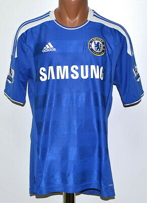 Chelsea London 2011/2012 Home  Football Shirt Jersey Adidas Size M Adult