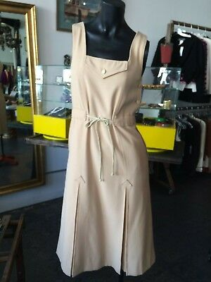 Vintage 60s-70s Rare Andre Courreges Jumper/Dress AMAZING CONDITION- COLLECTIBLE