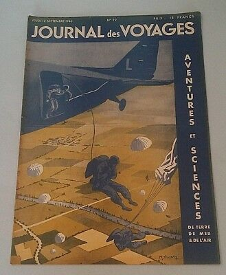 Journal Des Voyages (Spiral Bound N° 29, Thurs. 12th September 1946