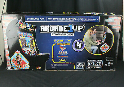 Arcade1Up Home Capcom Arcade Cabinet Final Fight, 1944, Ghosts N Goblins,Strider