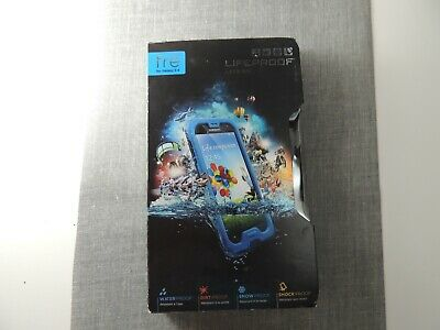 LifeProof FRE Waterproof Dust Proof Hard Case Cover for Samsung Galaxy S4 Blue
