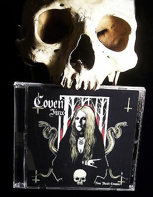 """COVEN """"JINX"""" ONLY AUTHORIZED NEW 2013 CD,Jinx hand signed, Witchcraft"""