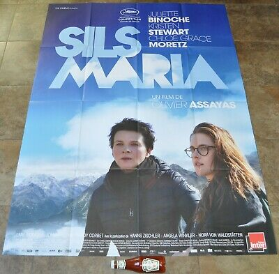 CLOUDS OF SILS MARIA Movie Poster - MASSIVE! Original - NEW - 2014 - French