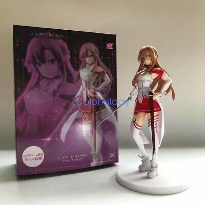 18CM Sword Art Online Yuuki Asuna Stand Figure Sexy Girl Collection Toys In Box