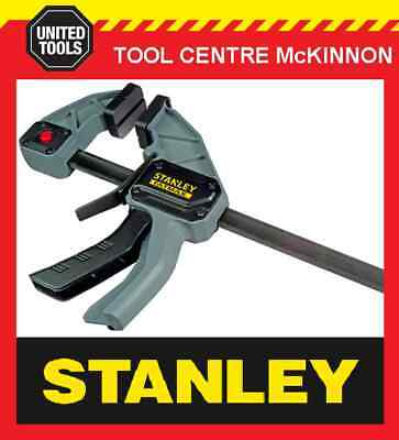 STANLEY FATMAX QUICK-GRIP STYLE 450mm ONE HANDED BAR CLAMP – 135kg CAPACITY