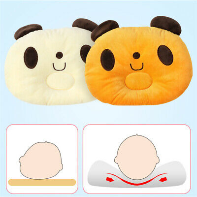 Baby Infant Infant Pillow Memory Foam Positioner Prevent Flat Head Anti Roll BS