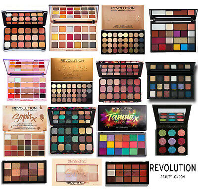 Makeup Revolution Eyeshadow Palette Cruelty Free