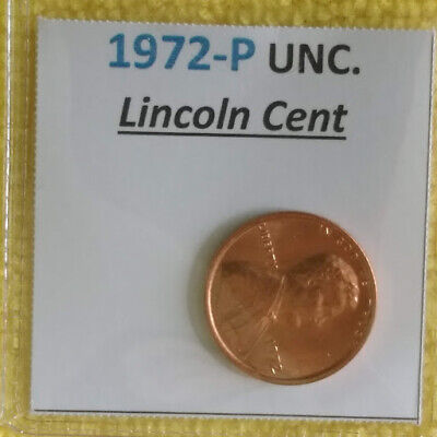 1972-P Lincoln Cent.+ FREE GIFT with your 1 Uncirculated Lincoln Penny!! L@@k!!!