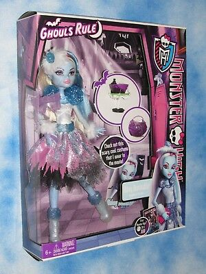 Monster High Ghouls Rule Abbey Bominable Doll Brand New NRFB Nice Box