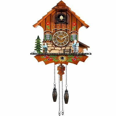 Cuckoo Clock Black Forest Antique Quartz Pendulum Wall Clocks Home Decoration