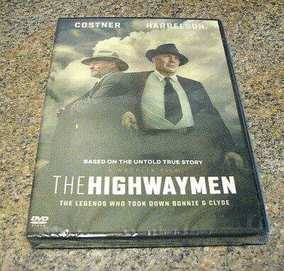The Highwaymen (Dvd 2019)  New~ With Kevin Costner & Woody Harrelson