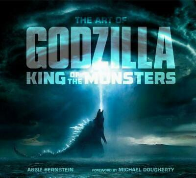 The Art of Godzilla: King of the Monsters by Abbie Bernstein Hardcover Book Free