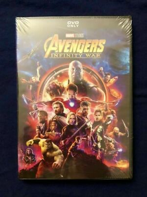 Marvels: Avengers Infinity War (DVD, Brand New, Free Shipping)