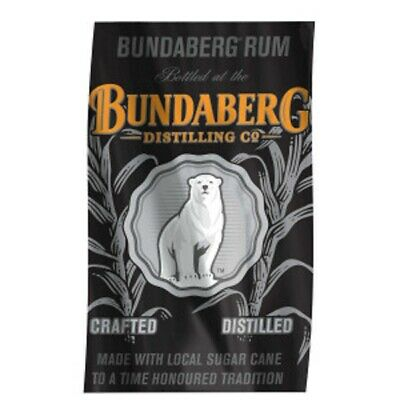 bundaberg rum cane fields bear flag 1500 x 900 (official sealed product)