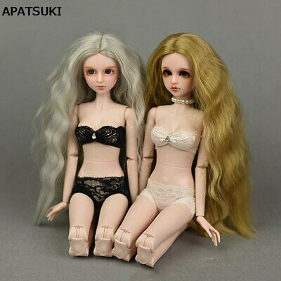 1set Lace Underwear For 1/4 Doll Bikini Clothes Bra & Briefs For 40-50cm Doll