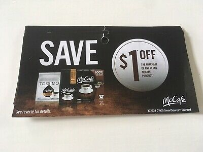 10 * 1.00 SAVE OFF the purchase of any retail McCAFE Product *CANADA*