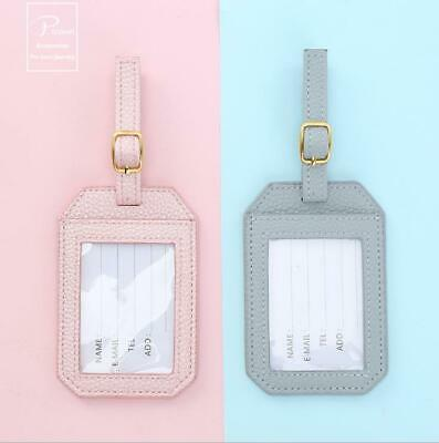Taggy Luggage Tag Travel Suitcase Bag Id Tags Address Label Baggage Card Holder