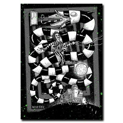 Beetlejuice 12x17/24x34inch 1988 Classic Movie Silk Poster Wall Decoration