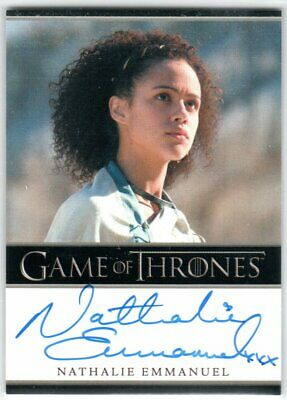 Game Of Thrones Season 5 Nathalie Emmanuel As Missandei Autograph Limited