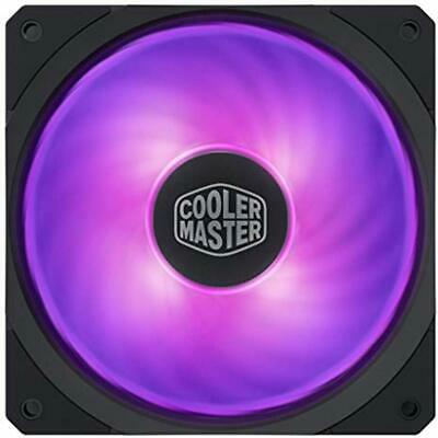 Cooler Master CPU Cooling Fans MasterFan SF120R RGB 120mm Square Framed With Air