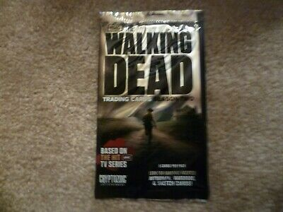 The Walking Dead Trading Cards Season 2 Hobby Pack