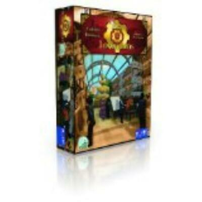 Quined Boardgame Era of Inventions Box NM
