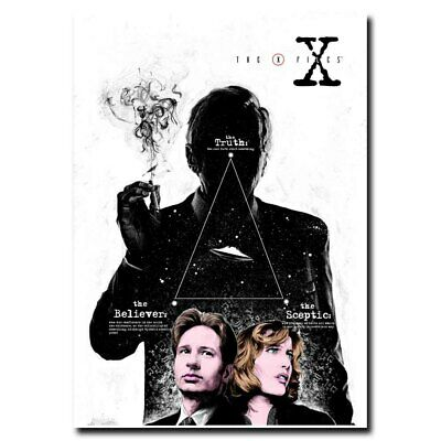 The X-Files 12x18 24x36inch Classic Movie Silk Poster Wall Decoration