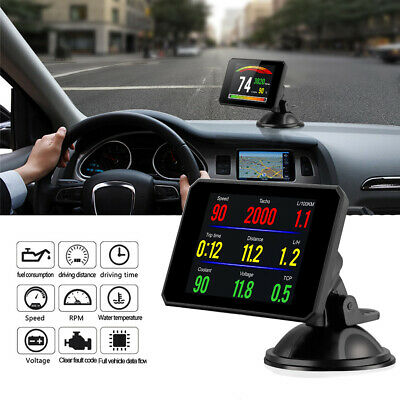 CAR ON-BOARD OBD2 Driving Computer Display Speedometer