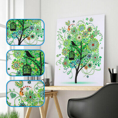 5D Butterfly Special Shaped Drill Diamond Painting Cross Stitch DIY Kits Home